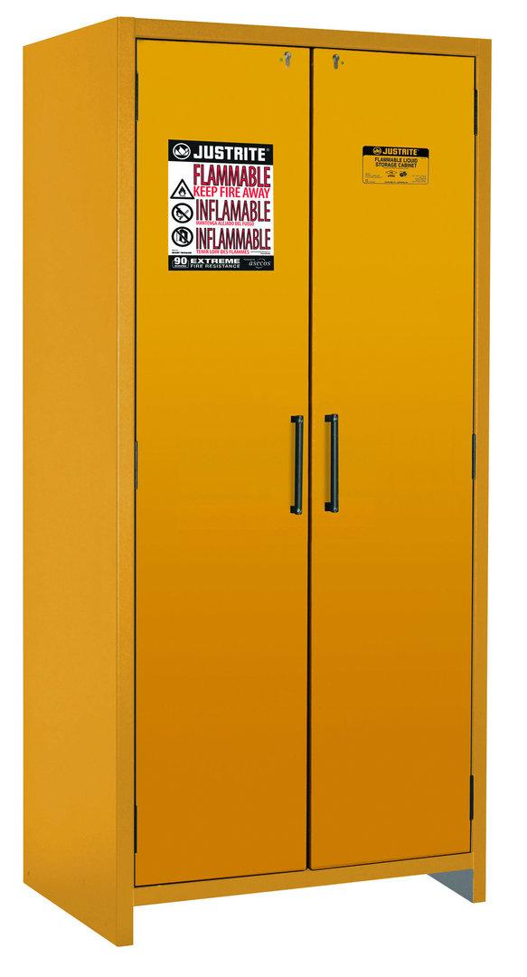sicherheitsschrank en 14470 1 f90 114 l 2 t ren gelb. Black Bedroom Furniture Sets. Home Design Ideas