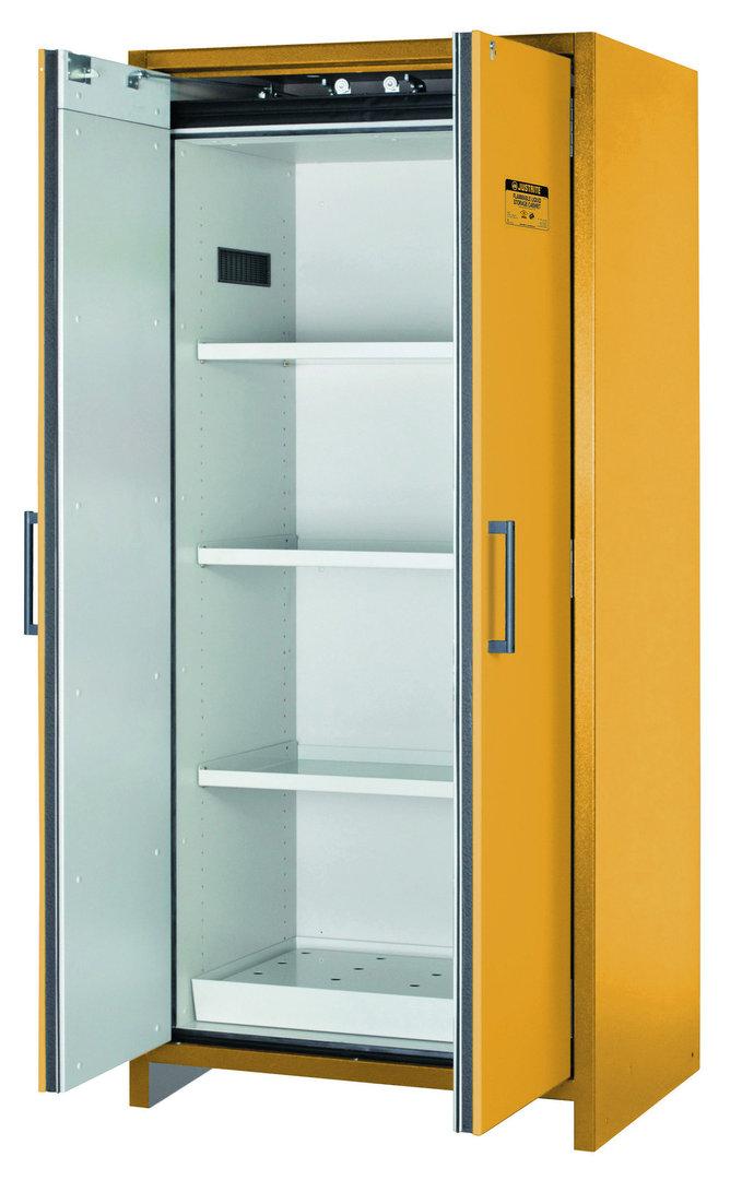 sicherheitsschrank en 14470 1 f30 114 l 2 t ren gelb. Black Bedroom Furniture Sets. Home Design Ideas